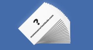 cartão de visitas link personalizado personalizável