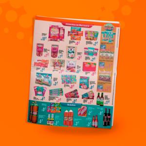 tabloide produtos diagramação