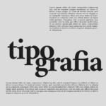 tipografia pesos fontes