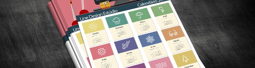 Por que Imprimir Calendários de Parede e quais são seus Benefícios