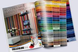 impressão de catálogo