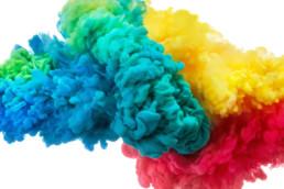 influência das cores