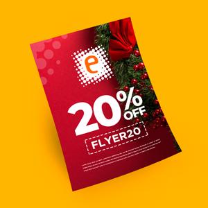 Marketing Impresso pro Natal com cupom de Desconto