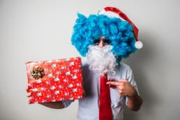 ações de marketing impresso para o fim do ano. Natal e Reveillon