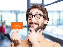 cartão de visita criativo para diversos segmentos do mercado
